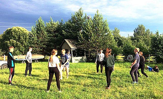 Туристский поход в деревню Коровчино Дрибинского района Могилёвской области