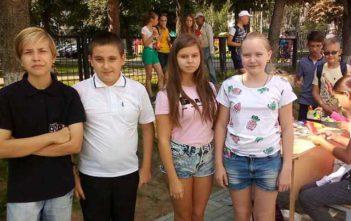 17 августа 2018 года ребята из 7 класса посетили городской семейный праздник «Семейный вояж»