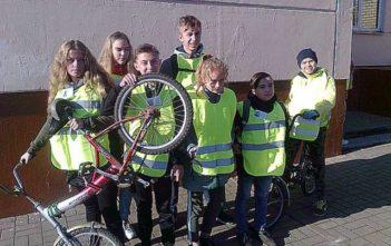 Поздравляем победителей городского конкурса «Юный велосипедист»