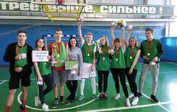 Победа в городской спортладии «Школьный кубок» - 2019