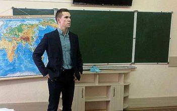 Профориентацию провели студенты из Академии МВД Республики Беларусь