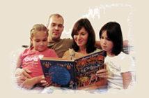 Возьмите книгу в круг семьи