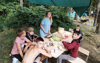 Туристско-оздоровительный палаточный лагерь