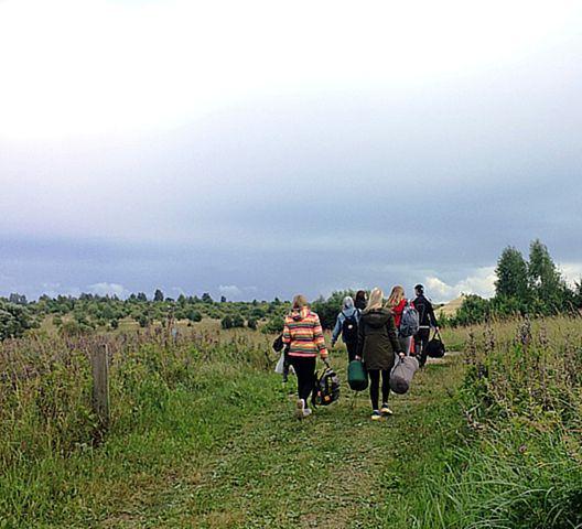 «Звёздный поход» по местам боевой славы, посвященный 75-летию освобождения Республики Беларусь