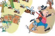 Правила безопасного поведения: пчёлы, осы, шершни