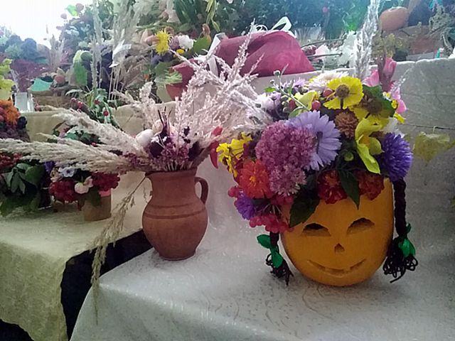 Выставка-конкурс осеннего букета «Каляровая восень»