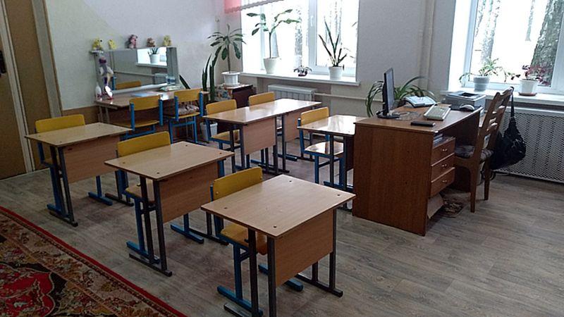 Зона для групповых и подгрупповых занятий пункта коррекционно-педагогической помощи