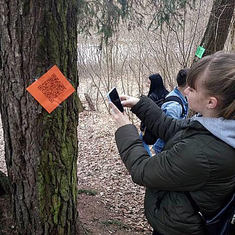 QR-квест «Загадки природы» в Печерском лесопарке