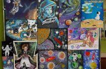 Выставка творческих работ, посвящённая Дню космонавтики «Очарование космоса»